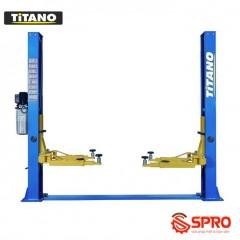 Cầu nâng 2 trụ đế dưới, cóc giật 1 bên Titano TB-4000S