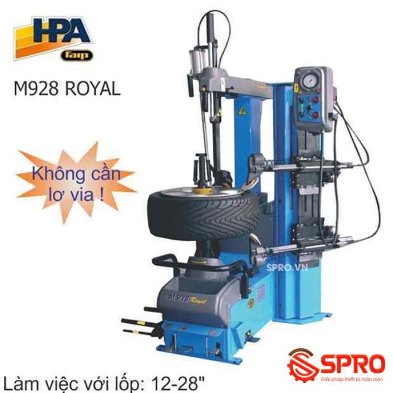 Máy tháo lắp vỏ ô tô tự động HPA M928 ROYAL + KFS-28