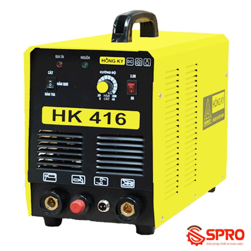 Máy hàn điện tử 3 chức năng que - tig - plasma Hồng Ký HK 416