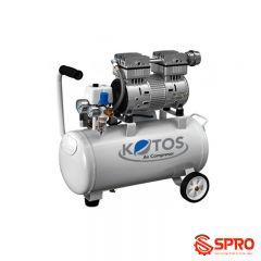 Máy bơm hơi mini không dầu Kotos HD550-25L, dung tích 25L