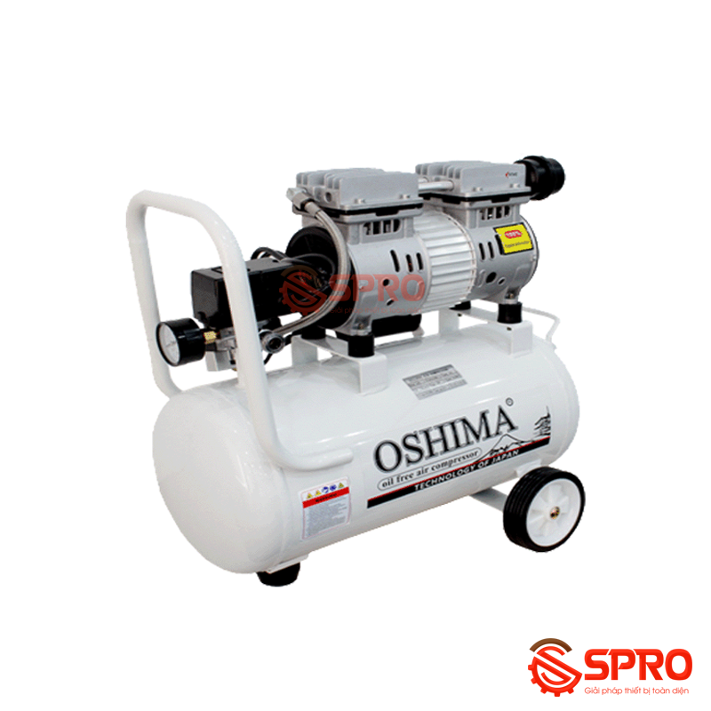 Máy nén khí mini không dầu OSHIMA OSM9 - 9L