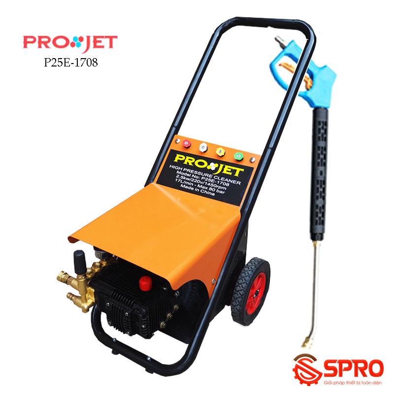 Máy rửa xe cao áp Projet P25E-1708 - Lưu lượng 17L/P
