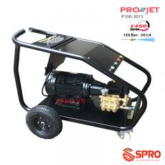Máy phun xịt rửa xe công trình, xe tải Projet P100-3015 - 10Kw - 150Bar