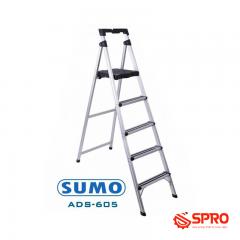 Thang ghế nhôm 5 bậc SUMO - ADS-605