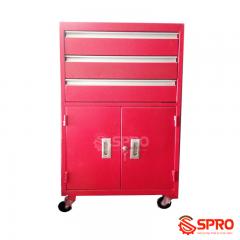 Tủ đựng dụng cụ 3 ngăn có tay kéo, 1 ngăn 2 cánh cửa TK3N
