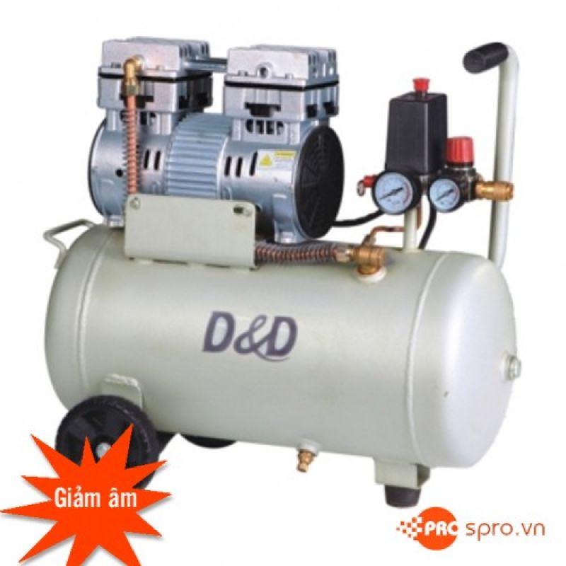 Máy nén khí mini không dầu (nhớt) D & D ROC1024J - Dung tích 24L