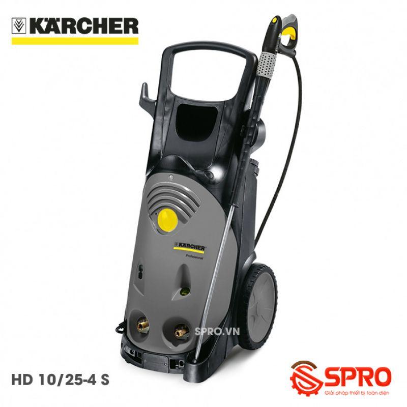 Máy xịt rửa áp lực cao Karcher HD 10/25-4 S - Công nghệ Đức