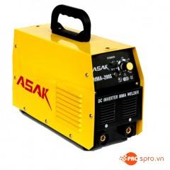 Máy hàn điện tử ASAK MMA-200S xuất xứ Trung Quốc