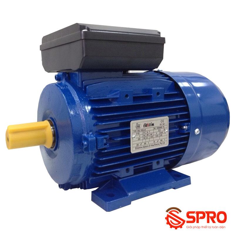 Động cơ điện motor Elektrim ML631- 4 1 pha công suất 0.12 kw