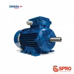 Động cơ điện mô tơ Elektrim EM71B-4 3 pha 0.5 HP hàng Singapore
