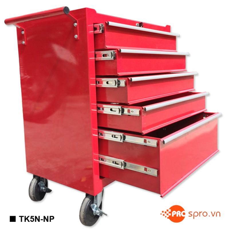 Tủ kéo đựng dụng cụ 5 ngăn TU-K5N có khóa