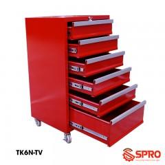 Tủ kéo đựng đồ nghề dụng cụ 6 ngăn TU-K6N