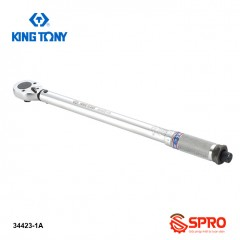 Cờ lê lực - cần chỉnh lực 1/2 Inch Kingtony 34423-1A, 42 - 210 N.m
