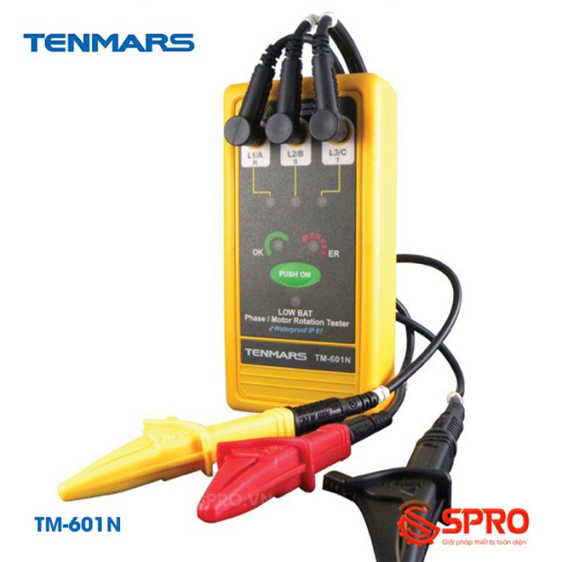 Máy đo kiểm tra thứ tự pha Tenmars TM-601N