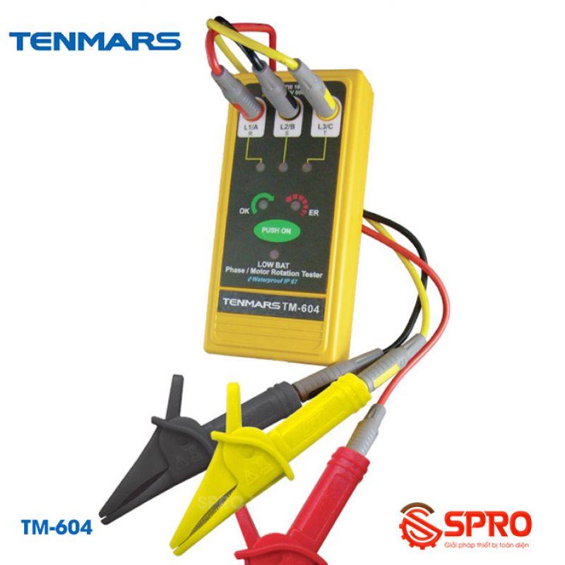 Máy đo kiểm tra thứ tự pha Tenmars TM-604