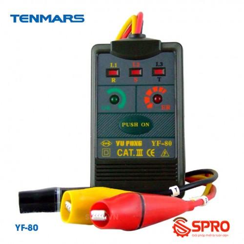 Máy đo kiểm tra thứ tự pha Tenmars YF-80