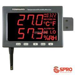 Máy đo nhiệt độ độ ẩm Tenmars TM-185 (-20º to 60ºC, 5%~95%)