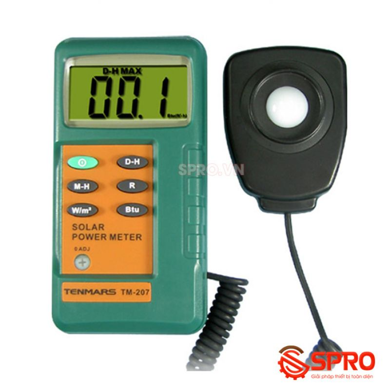 Máy đo bức xạ mặt trời Tenmars TM-207