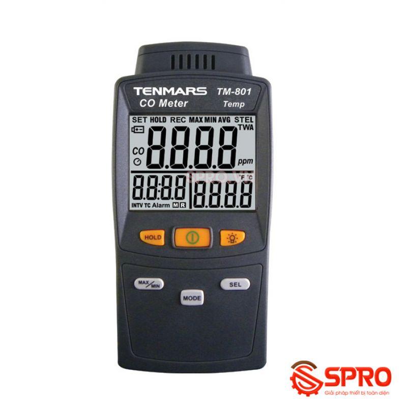 Máy đo khí CO Tenmars cầm tay TM-801 (0 ~ 1000ppm)