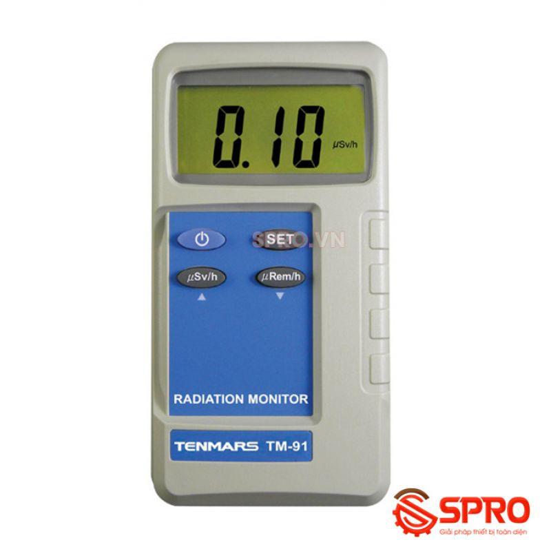Máy đo phóng xạ, bức xạ điện từ Tenmars TM-91N