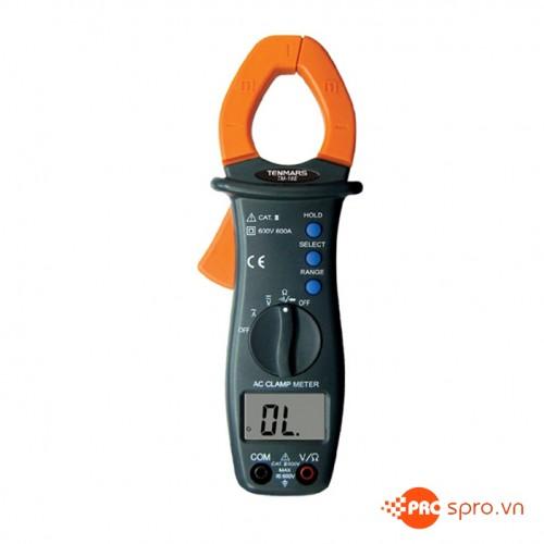 Ampe kìm điện tử Tenmars TM-16E (600A/600V)