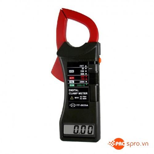 Ampe kìm dạng số Tenmars YF-8020 (0.1A - 600A)