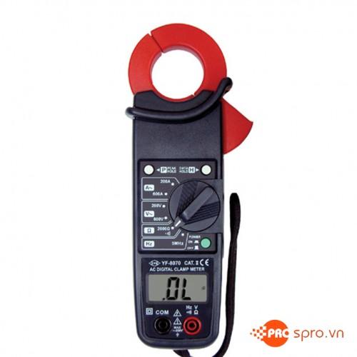 Ampe kìm AC Tenmars YF-8070 (600A,750VAC)