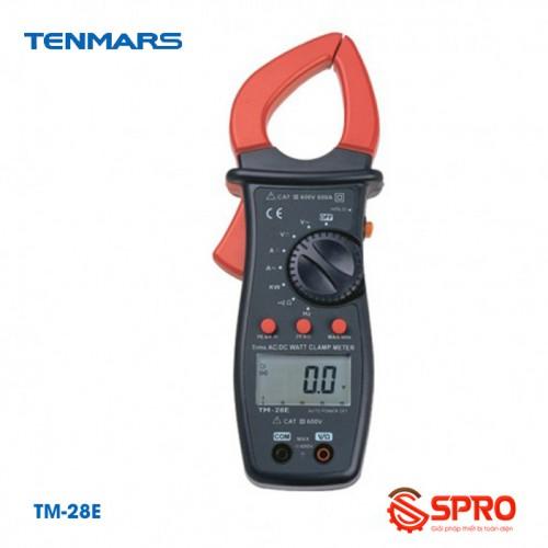 Ampe kìm số điện tử AC/DC Tenmars TM-28E (600A)