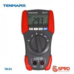 Đồng hồ vạn năng hiển thị số Tenmars TM-81 (AC/DC)
