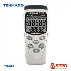 Máy đo nhiệt độ cầm tay kiểu K Tenmars TM-80N