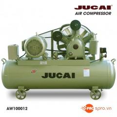 Máy nén khí Jucai 15HP 2 cấp AW100012 - Dung tích bình 500L