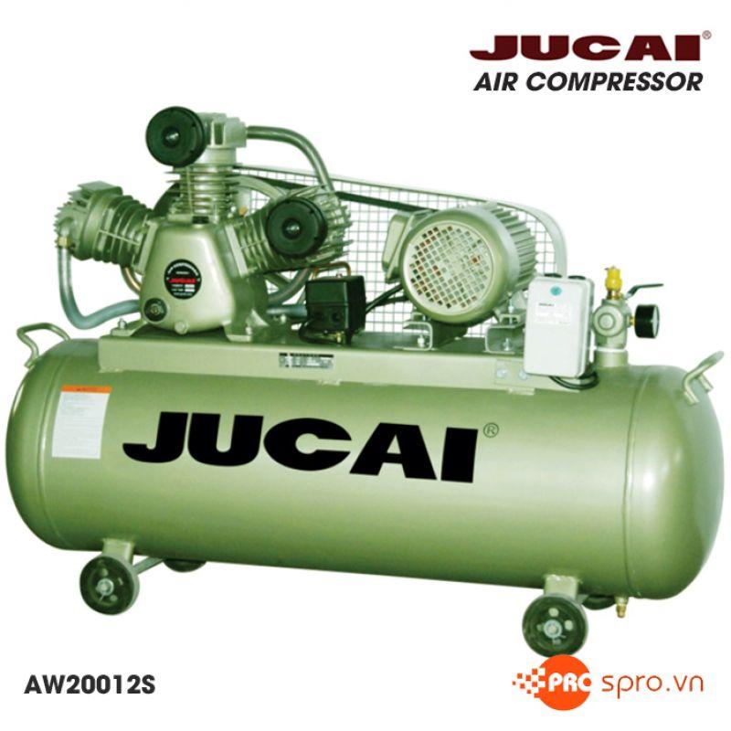 Máy nén khí jucai 3HP 2 cấp AW20012S - Dung tích 100 Lít
