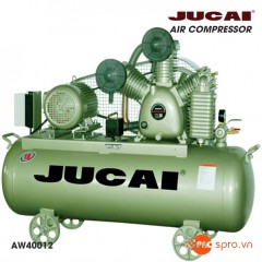 Máy nén khí Jucai 5.5hp 2 cấp AW40012 - Dung tích 200 Lít