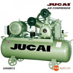Máy nén khí Jucai 7.5HP 2 cấp AW60012 - Dung tích 250 Lít
