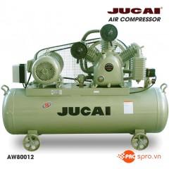Máy nén khí Jucai 10HP 2 cấp AW80012-500 - Dung tích 500L
