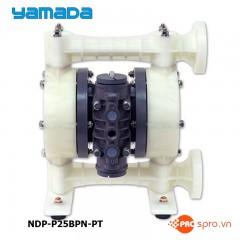 """Máy bơm màng khí nén Yamada NDP-P25BPN-Đầu hút và đẩy 1"""""""