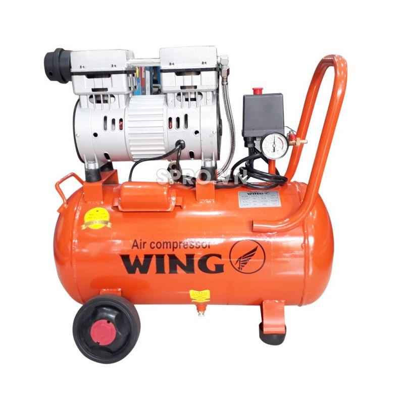 Máy nén khí mini không dầu 1HP Wing TW-OF750-25L - Dung tích 25L