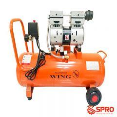 Máy nén khí mini không dầu 1HP Wing TW-OF750-35L - Dung tích 35L