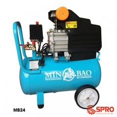 Máy nén khí Mini 3 HP MINBAO MB24 - Dung tích 24L