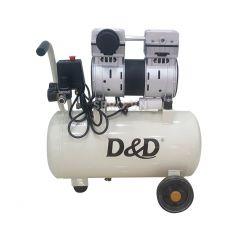 Máy nén khí không dầu (nhớt) D & D ROC1024J - Dung tích 24L