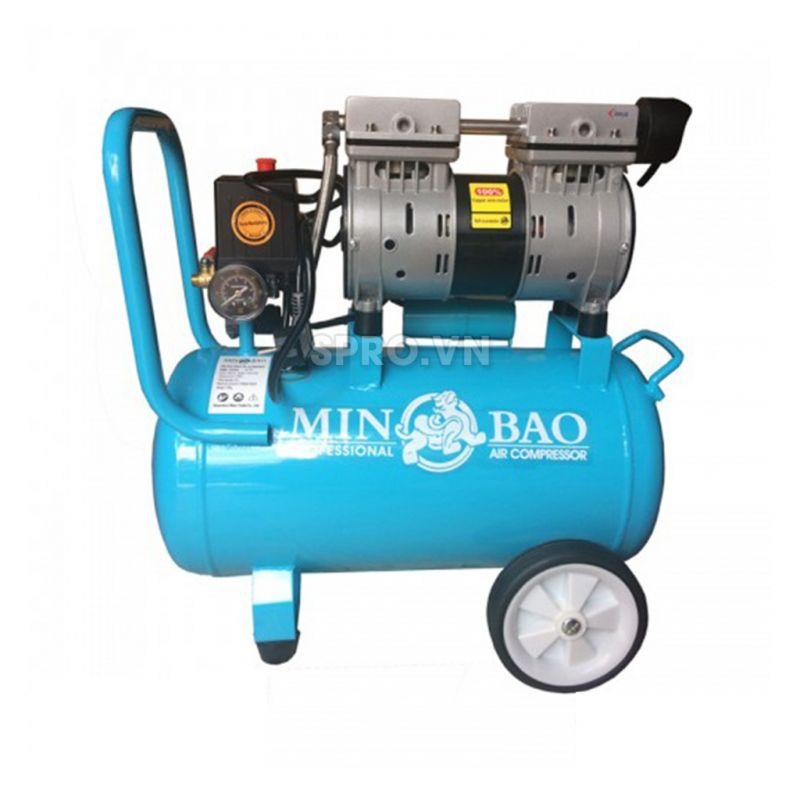 Máy bơm hơi mini không dầu 1HP Minbao MB-024L - Dung tích 24L