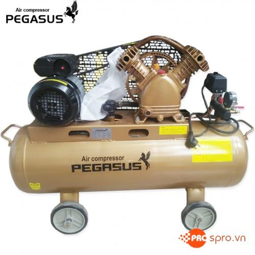 Máy nén khí piston PEGASUS TM-V-0.17/8-70L - Dung tích 70L