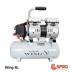 Máy nén khí mini không dầu 0.75HP Wing TW-OF550-9L - Dung tích 9 Lít