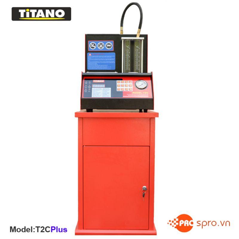Máy súc rửa kim phun - Béc phun FI Titano T2C+
