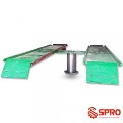 Cầu nâng 1 trụ rửa xe ô tô - du lịch NV4000 - 4 tấn