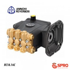 Đầu bơm cao áp AR-Italy RR 18.16C+U - Kiểu lắp mặt bích