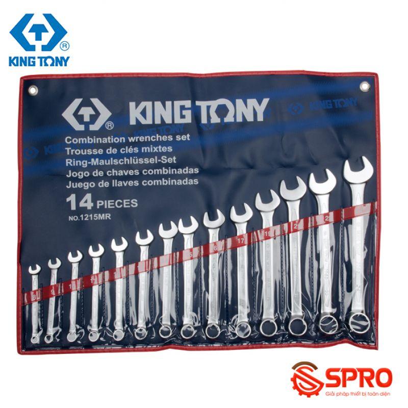Bộ cờ lê vòng miệng 14 chi tiết Kingtony 1215MR