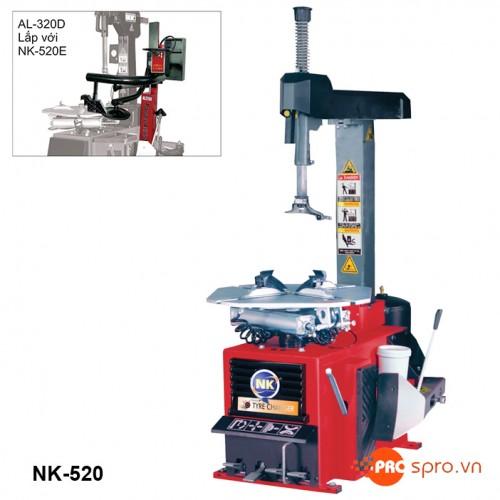 Máy tháo vỏ ô tô, xe du lịch NK-520E - Kiểu bán tự động