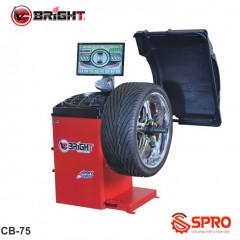 Máy cân mâm, cân bằng lốp ô tô Bright CB-75P