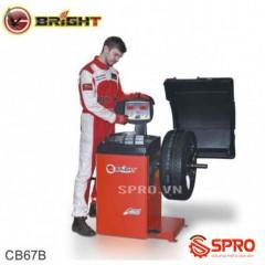Máy cân mâm, cân bằng lốp ô tô Bright CB67B